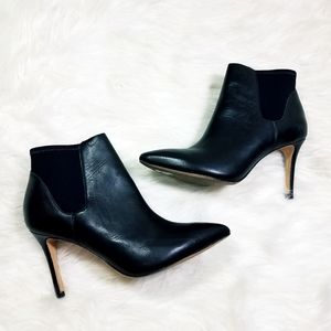 Loeffler Randall Leather Heel Booties